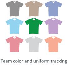 Team uniform management